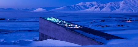 Svalbard Global Seed Vault. Credit Mari Tefre, andCroptrust.org